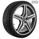 Mercedes Genuine BRABUS Monoblock E 20 Rims TPMS and MICHELIN Tires