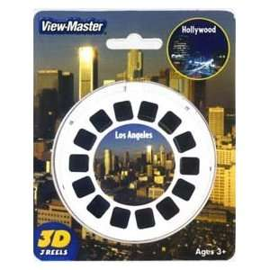 View Master 3D 3 Reel Card Los Angeles & Hollywood