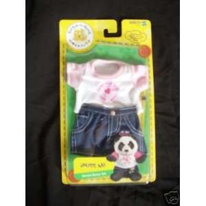 Build a Bear Workshop Dress Me Denim Daisy Set: Toys