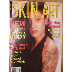Skin Art Magazine Tribal Tattoos (January, 1994): staff: