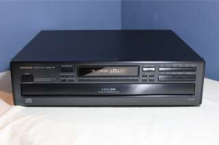 Onkyo 6 CD Compact Disc Player Changer DX C320