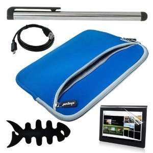 High Quality BLUE Dual Pocket Carrying Bag + Useful Touch