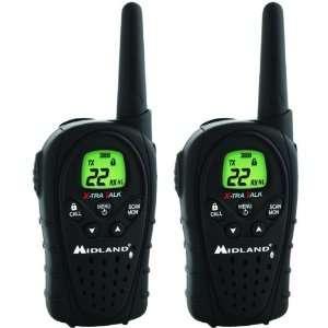 MIDLAND 22 CH GMRS RADIO PAIR PK   XT27
