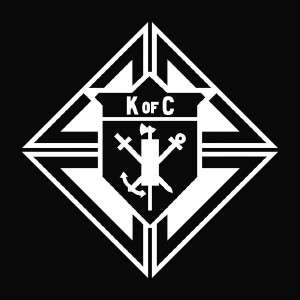 Knights of Columbus Die Cut Vinyl Decal Sticker