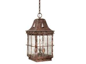 Edinburgh outdoor antique vaxcel fixture hanging pendant lodge light