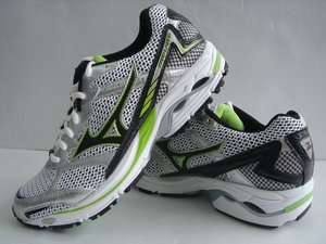 2012 Mizuno Wave Laser Silver Black Green Professional Mens Running