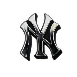 NEW YORK YANKEES NY YANKS CHROME EMBLEM STICKER LOGO 681620532005