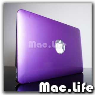 METALLIC PURPLE Hard Case Cover for NEW Macbook Air 11
