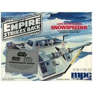 Star Wars Empire Strikes Back Mpc Snowspeeder Toys & Games
