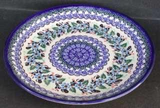 Lovely Unikat Polish Pottery Plate Pattern No. 1318