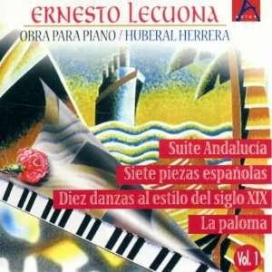 Vol. 1 Obra Para Piano Ernesto Lecuona Music