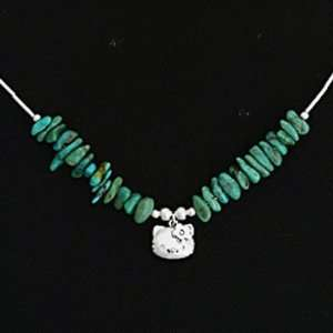 Hello Kitty Green Stone Necklace Toys & Games