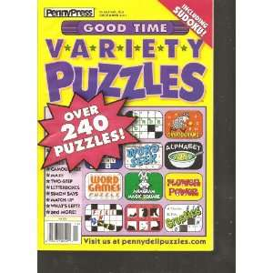 Penny Press Good Time Variety Puzzles (Over 240 Puzzles, December 2011