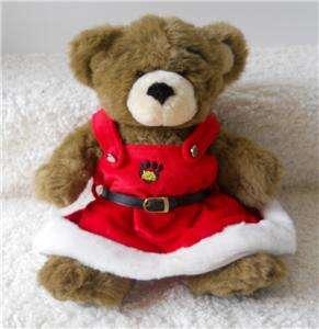 Build A Bear CHRISTMAS TREE HOLIDAY MRS PAWS READY FOR SANTA LOT OF 5
