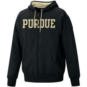 Nike Purdue Boilermakers Black Classic Full Zip Fleece Hoody