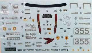 Ferrari F355 Challenge 1/24 Scale kit   Fujimi RS 29