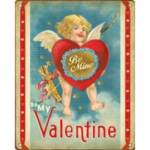 Be My Valentine   Cupid   Valentines Day Decoration Sign