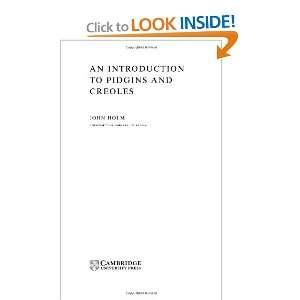 Cambridge Textbooks in Linguistics) (9780521584609): John Holm: Books
