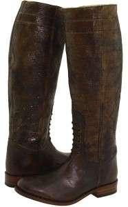 True Religion Womens Farah Boots US 6 M NIB $375 Leather Distressed