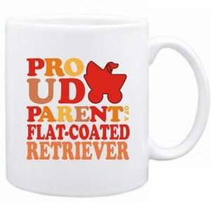 New  Proud Parent Of Flat Coated Retriever  Mug Dog