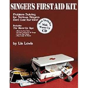 Hal Leonard Singers First Aid Kit   Male Voice Book/CD