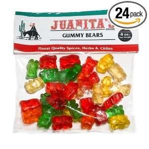 Juanita Gummy Bears (Pack of 24) Grocery & Gourmet Food