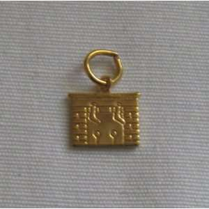 Vintage Gold Charm Christmas Hearth Fireplace Everything Else