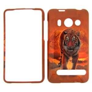 Premium   SPRINT HTC EVO 4G TIGER COVER CASE   Faceplate