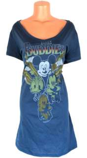 Mickey Mouse Tee T Shirt Mini Dress Sz 2X 20 The Beatles Parody