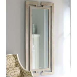 Extra Long Contemporary Silver Wall Mirror Full Length