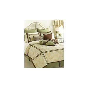 Vida by Eva Mendes Bedding, Juliette 4 piece Queen Comforter Bed in a