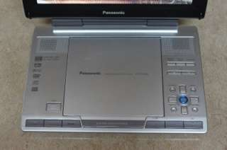 Panasonic DVD LS90 9 Portable DVD Player+Battery**Sold AS IS