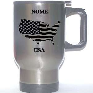 US Flag   Nome, Alaska (AK) Stainless Steel Mug