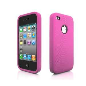 more. Swirling Series Silicone Case for iPhone 4 (Pink