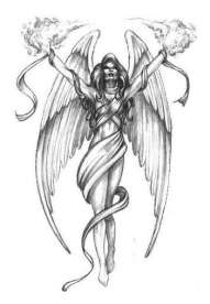 introduction an angel tattoo design is an overtly religious symbol