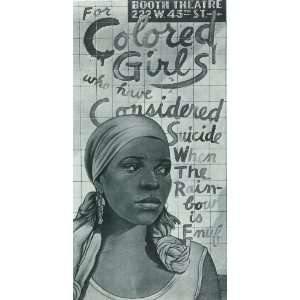 For Colored Girls Who Have Considered Suicide/When the