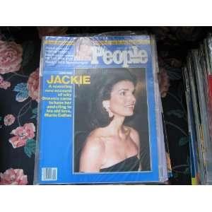People Weekly (JACKIE ONASSIS , Maria Callas , Loni