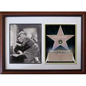 Lucille Ball 8 x 10 Custom Framed Hollywood Stars