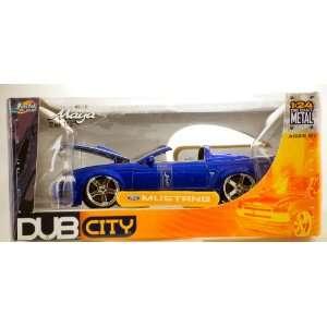 2003   Jada Toys   Dub City   Ford Mustang Custom   Purple