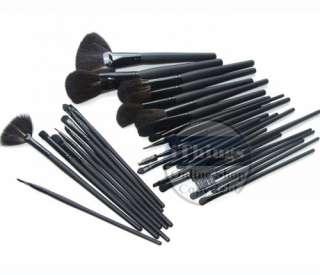 32 Pcs Professional Makeup Cosmetic Brush set Kit Case Brand 2011 New