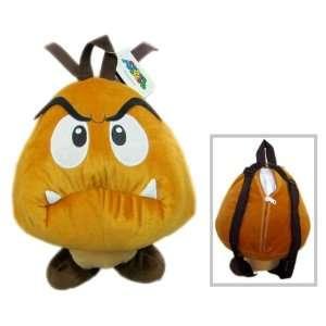 Super Mario Goomba Plush Backpack