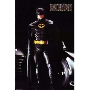 Dated 1989 MICHAEL KEATON as BATMAN Mint Sealed Poster