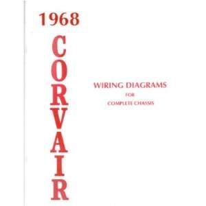 1968 CHEVROLET CORVAIR Wiring Diagrams Schematics Automotive