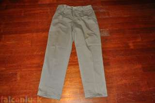 GAP 33x32 Used Mens Relaxed Fit Khaki Pants Light Gray