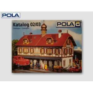 SCALE CATALOG   POLA G SCALE MODEL TRAIN BUILDINGS 9102 Toys
