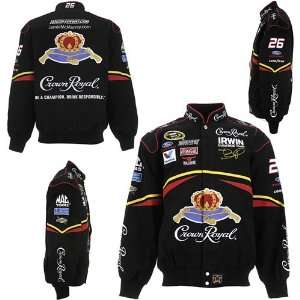 Chase Authentics Jamie McMurray Crown Royal Black Twill