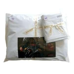 Nuru Massage Pillow Case Pair White: Health & Personal