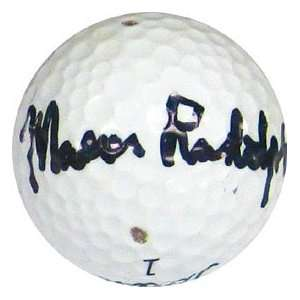 Mason Rudolph Autographed / Signed Golf Ball Sports