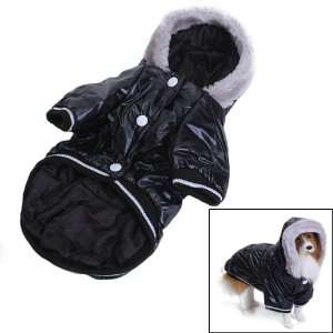 Pet Dog Hoodie Hooded Winter Puffy Coat Jacket Size M