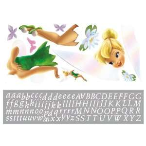 Disney Tinkerbell Peel and Stick Giant Wall Decal with Personalization